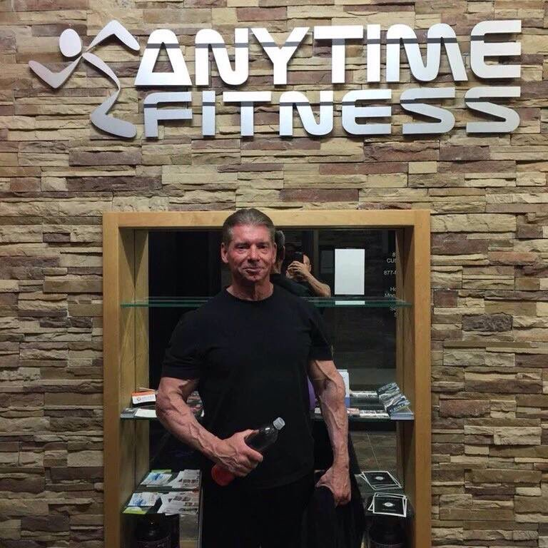 Vince McMahon still ripped at the age of 71