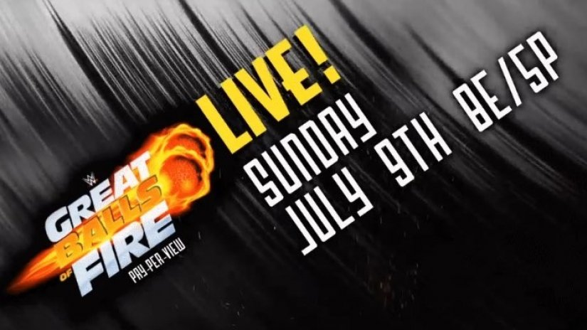 WWE Great Balls of Fire 2017 Logo