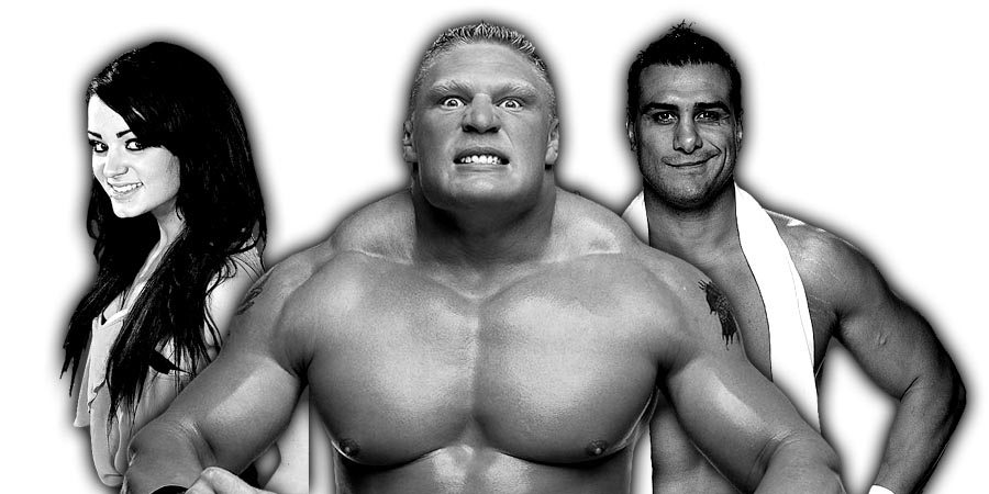 Brock Lesnar defend the Universal Title in a Fatal 4 Way match at SummerSlam 2017, Allegations of Alberto Del Rio assaulting Paige