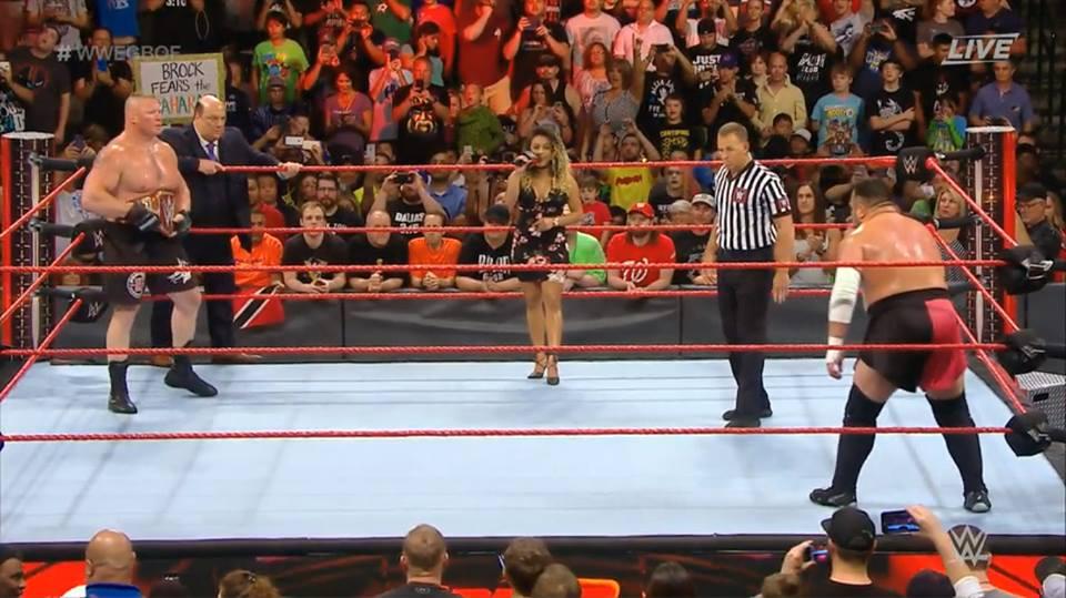 Brock Lesnar vs. Samoa Joe at Great Balls of Fire 2017 Results