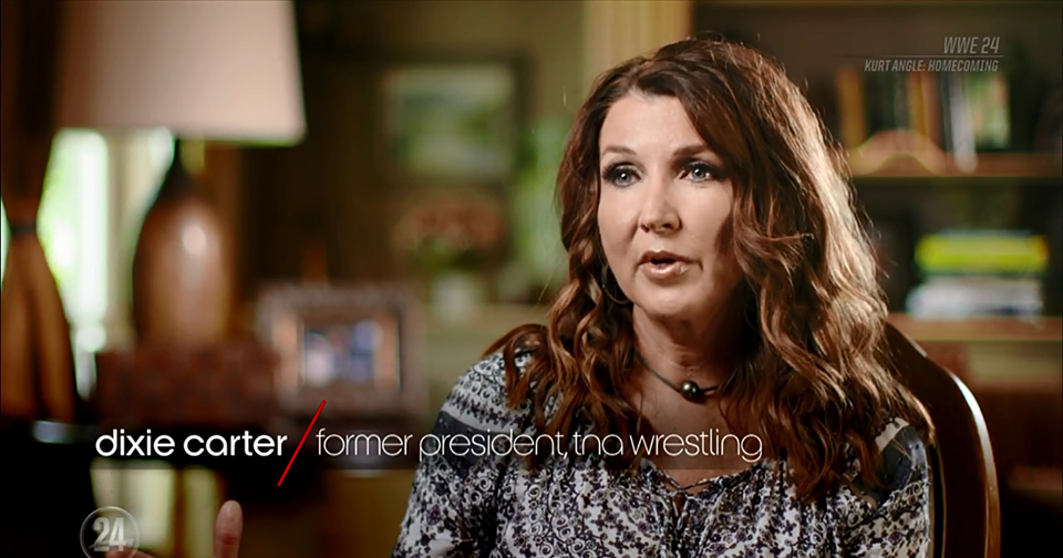 Dixie Carter On WWE 24 Special On Kurt Angle On The WWE Network