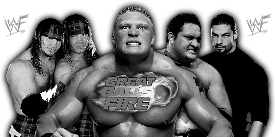 Great Balls of Fire 2017 (Live Coverage & Results) - Brock Lesnar vs. Samoa Joe For The Universal Title, Roman Reigns vs. Braun Strowman In An Ambulance Match