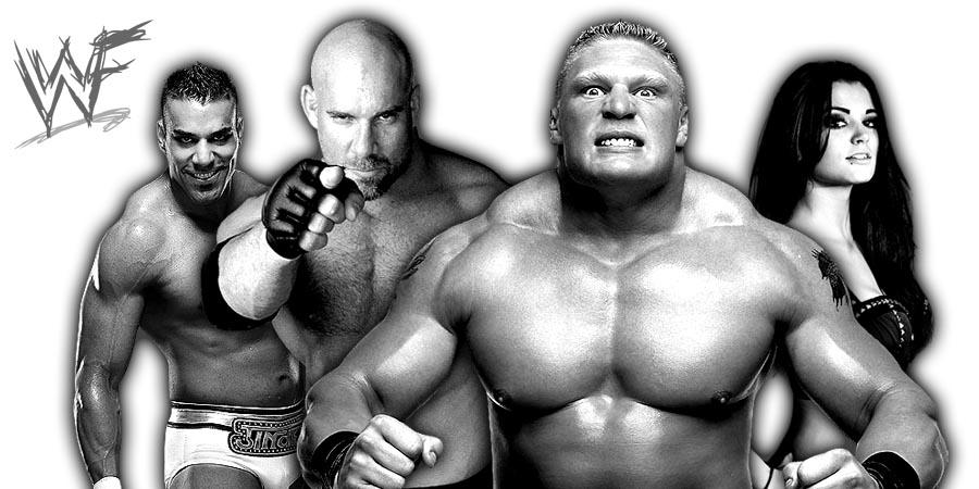 Jinder Mahal, Goldberg, Brock Lesnar, Paige