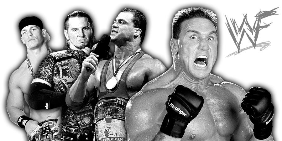 John Cena, BROKEN Matt Hardy, Kurt Angle, Ken Shamrock