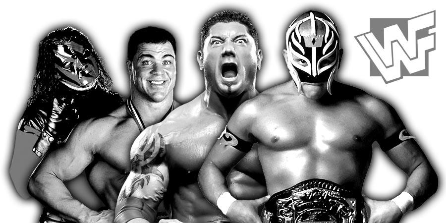 Kane, Kurt Angle, Batista, Rey Mysterio