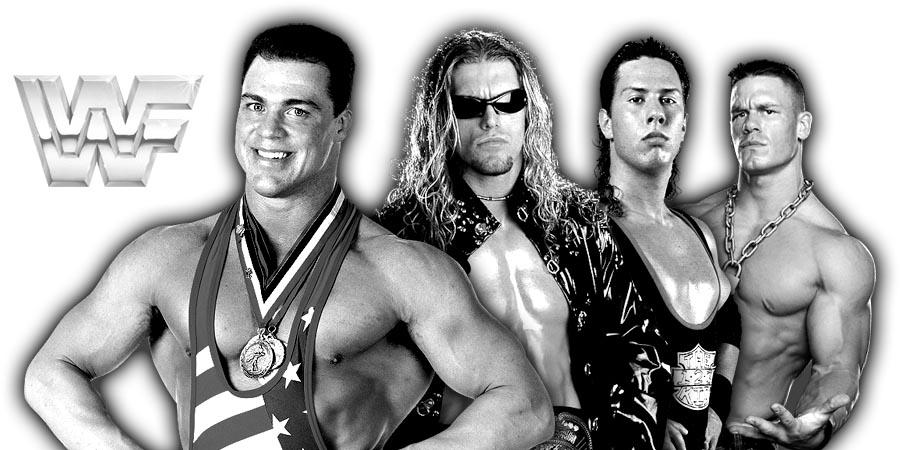Kurt Angle, Edge, X-Pac, John Cena