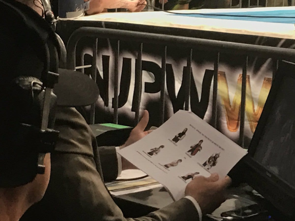 NJPW Star Takes A Shot At Jim Ross' Work At The Recent G1 Special