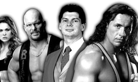 Ronda Rousey, Stone Cold, Vince McMahon, Bret Hart