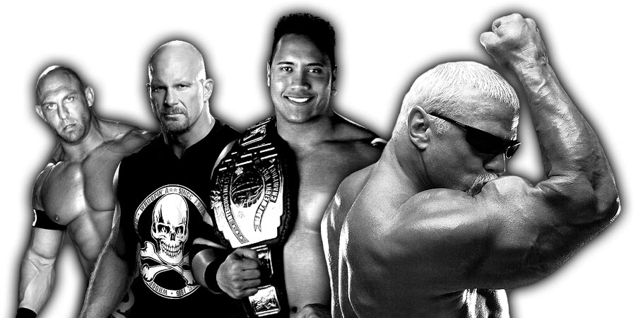 Ryback, Stone Cold, The Rock, Scott Steiner
