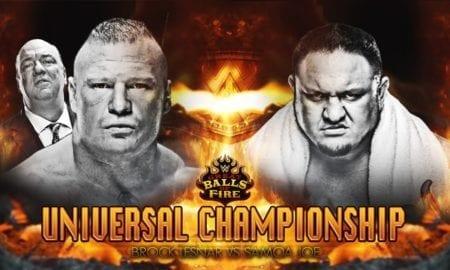 Samoa Joe Says Brock Lesnar Doesn't Like To Preplan Things Before A Match
