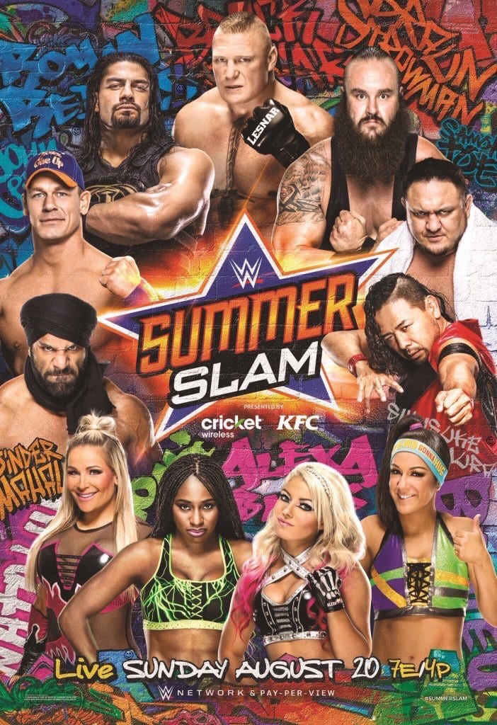 SummerSlam 2017 Official Poster