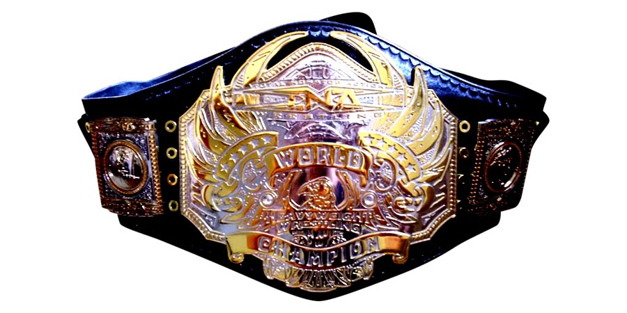 TNA World Heavyweight Championship - Title - Belt - Impact Wrestling