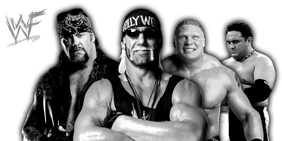 The Undertaker, Hollywood Hogan, Brock Lesnar, Samoa Joe
