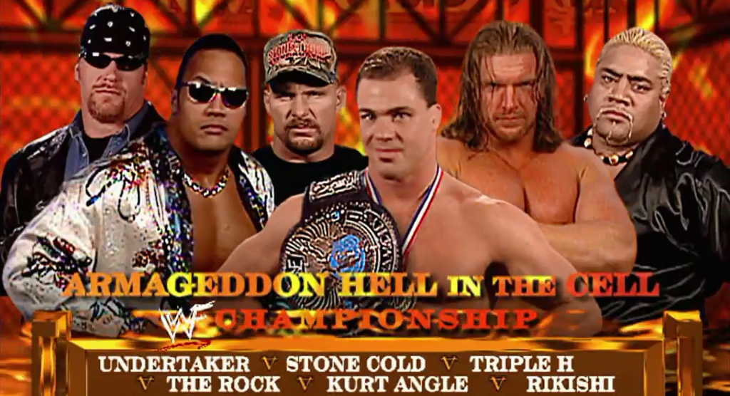 Armageddon-2000-Hell-in-a-Cell-match-for