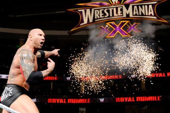 Batista main evented WrestleMania 30