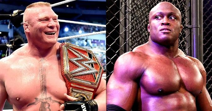 Brock Lesnar & Bobby Lashley