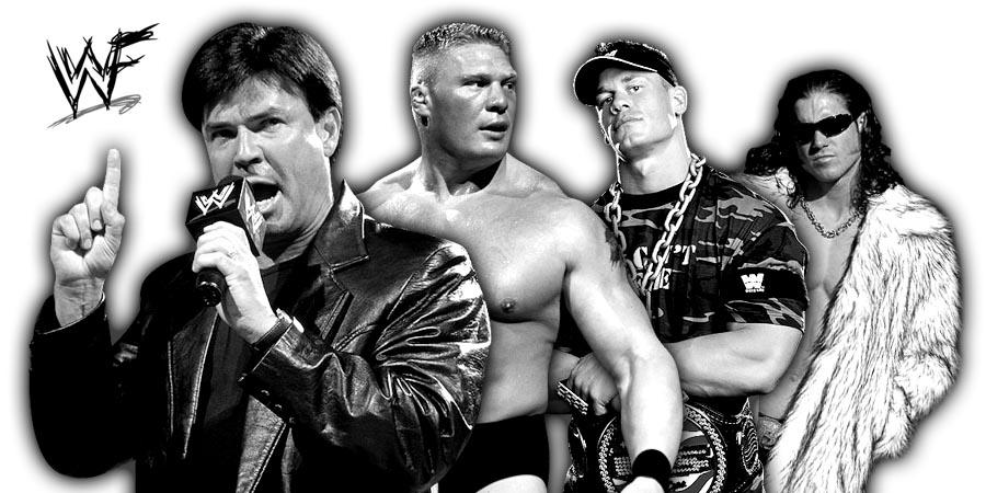 Eric Bischoff, Brock Lesnar, John Cena, John Morrison