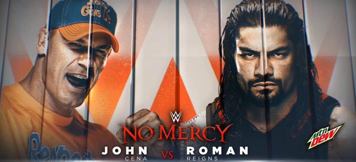 Real Reason Behind WWE Booking John Cena vs. Roman Reigns At No Mercy 2017