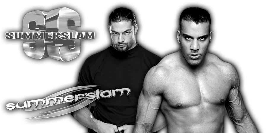 Roman Reigns & Jinder Mahal - SummerSlam