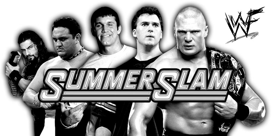 SummerSlam 2017 (Live Coverage & Results) - Brock Lesnar vs. Roman Reigns vs. Braun Strowman vs. Samoa Joe