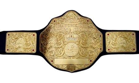 World Heavyweight Championship Belt WCW WWE Title Belt Champion