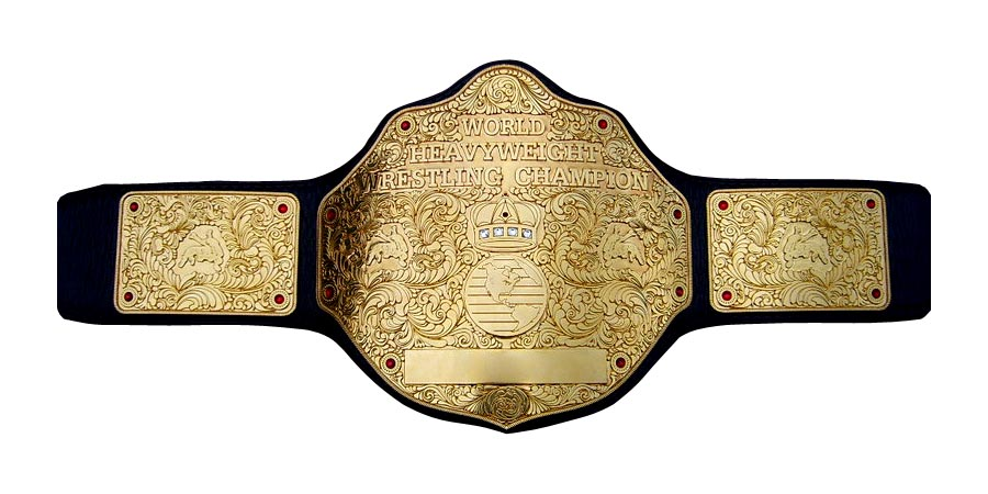 World Heavyweight Championship Belt WCW WWE Title Belt Champion