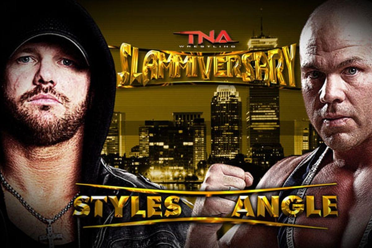 AJ Styles vs. Kurt Angle - TNA Slammiversary 2008