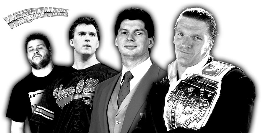 Big WrestleMania 34 Angle Involving Triple H, Shane McMahon & Kevin Owens Nixed By Vince McMahon