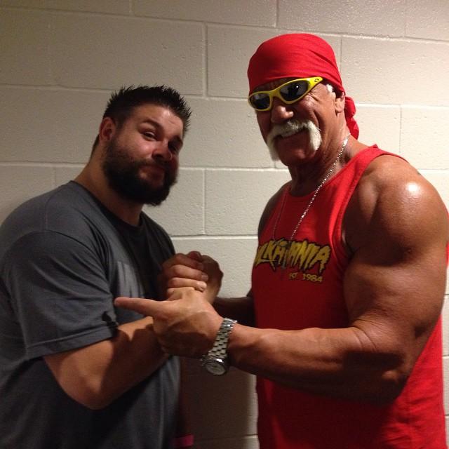 Hulk Hogan & Kevin Owens