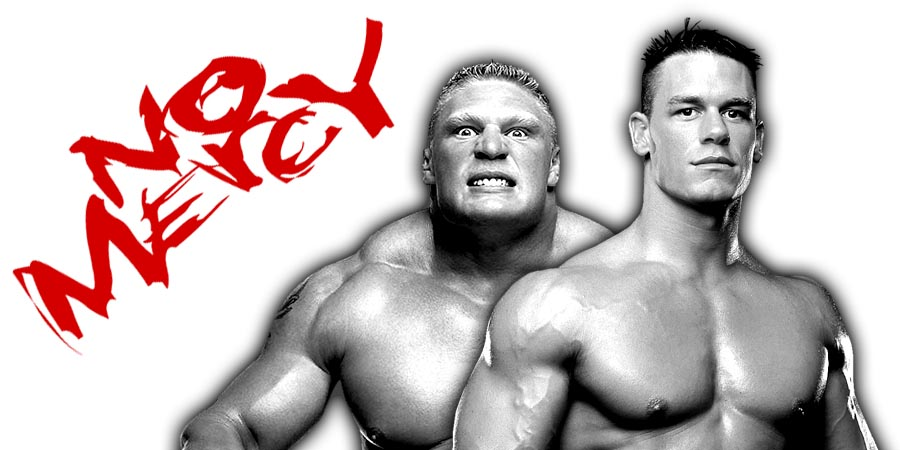 No Mercy 2017 Results - Brock Lesnar vs. Braun Strowman, John Cena vs. Roman Reigns