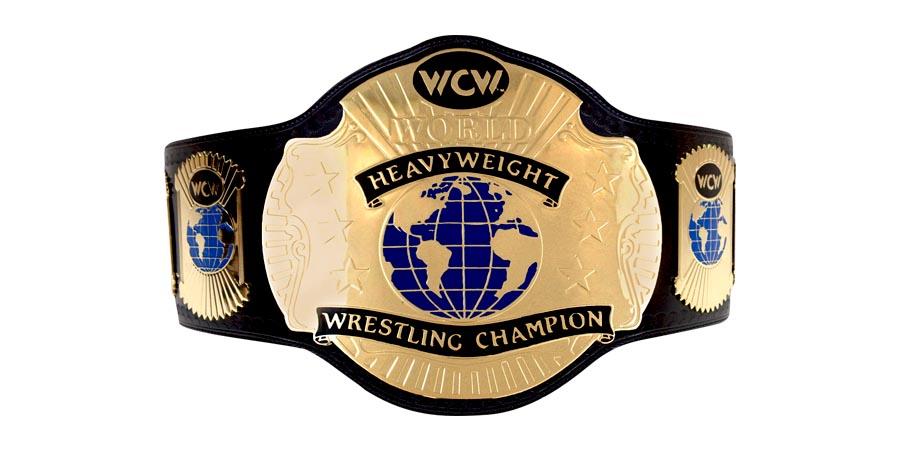 WCW World Championship Heavyweight Belt Title Champion