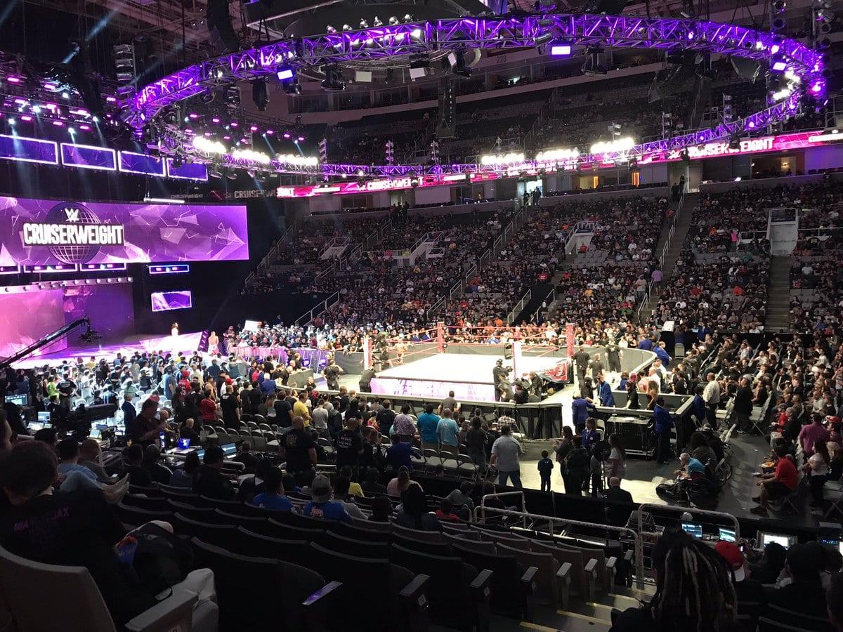 Weak WWE Raw Attendance 2017