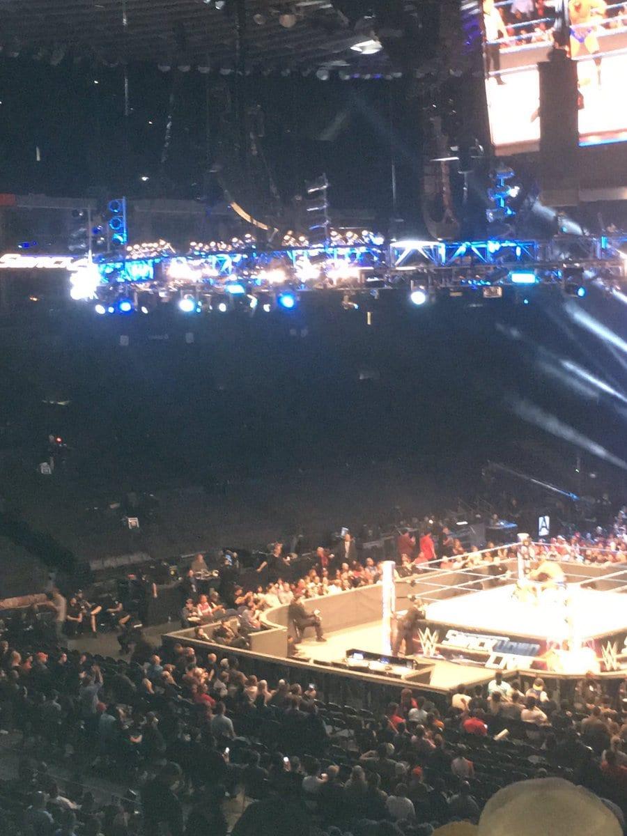 Weak WWE SmackDown Live Attendance 2017 - 3