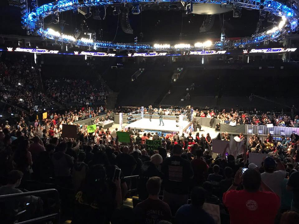 Weak WWE SmackDown Live Attendance 2017