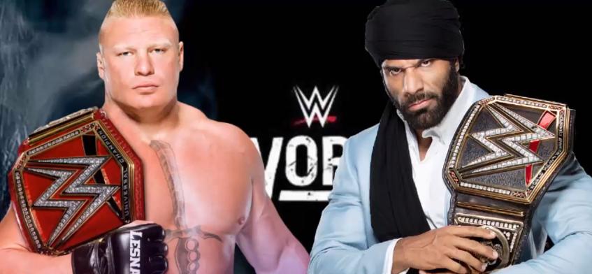 Brock Lesnar vs. Jinder Mahal - Survivor Series 2017