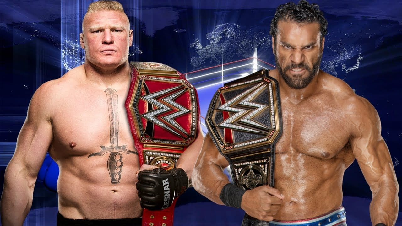 Brock Lesnar vs. Jinder Mahal in a Universal Champion vs. WWE Champion match planned for Survivor Series 2017