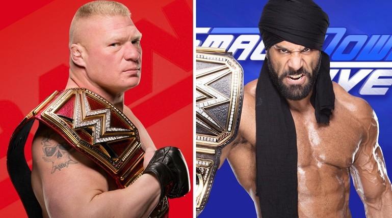 Brock Lesnar vs. Jinder Mahal