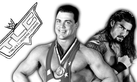 Kurt Angle To Wrestle At TLC 2017 As Roman Reigns' Replacement