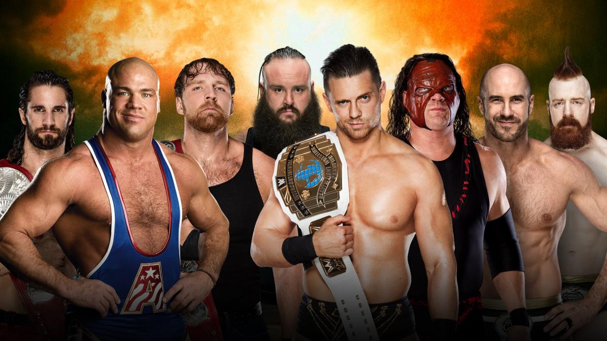 Kurt Angle to wrestle his first WWE match in 11 years at TLC 2017, to replace Roman Reigns in the TLC match