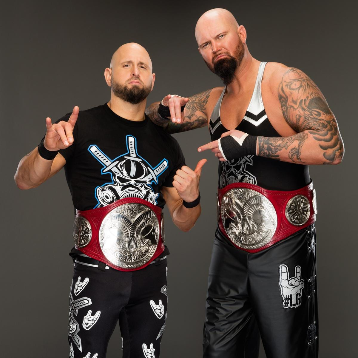 Luke Gallows & Karl Anderson as the Raw Tag Team Champions