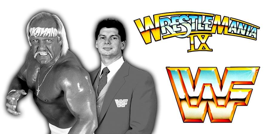 Never Seen Before Post-WrestleMania IX Embrace Between Hulk Hogan & Vince McMahon