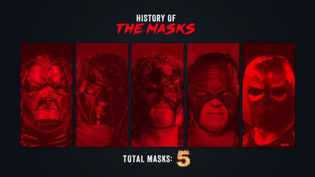 Total Kane Masks - 5