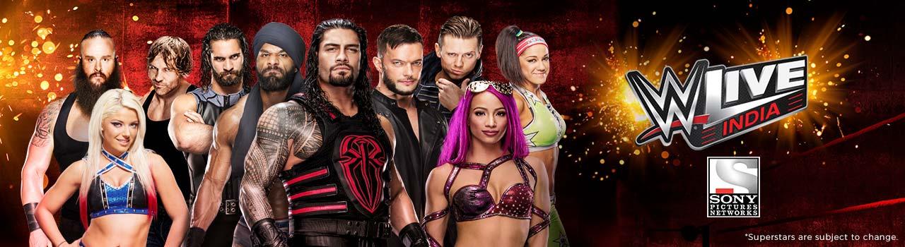WWE Live India December 2017 - Roman Reigns, Jinder Mahal & More