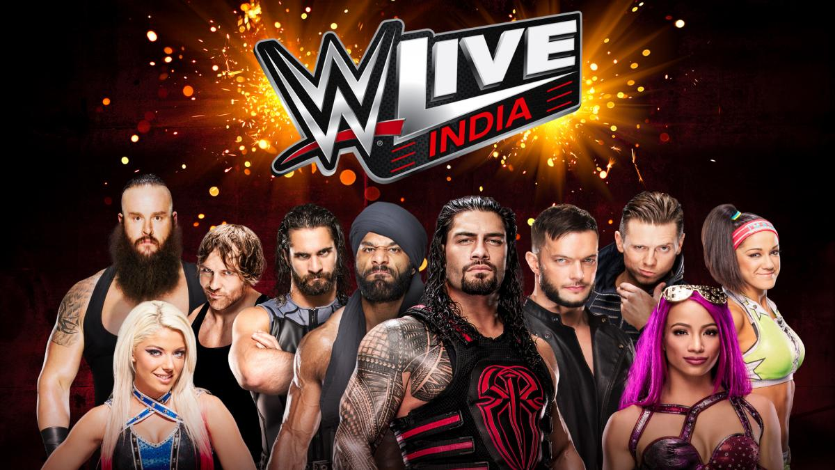WWE Live India December 2017 - Roman Reigns & WWE Champion Jinder Mahal To Be The Headliners
