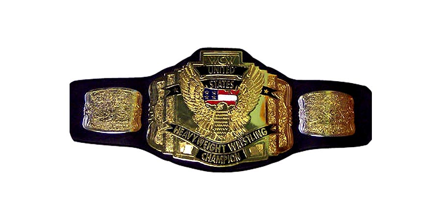 WWE WCW US United States Championship Title Belt