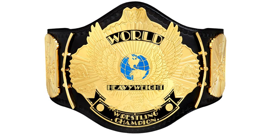 WWF WWE World Heavyweight Championship Title Belt Champion Winged Eagle