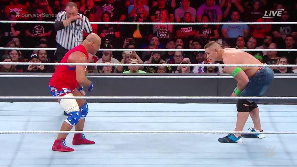 John Cena vs. Kurt Angle - Survivor Series 2017