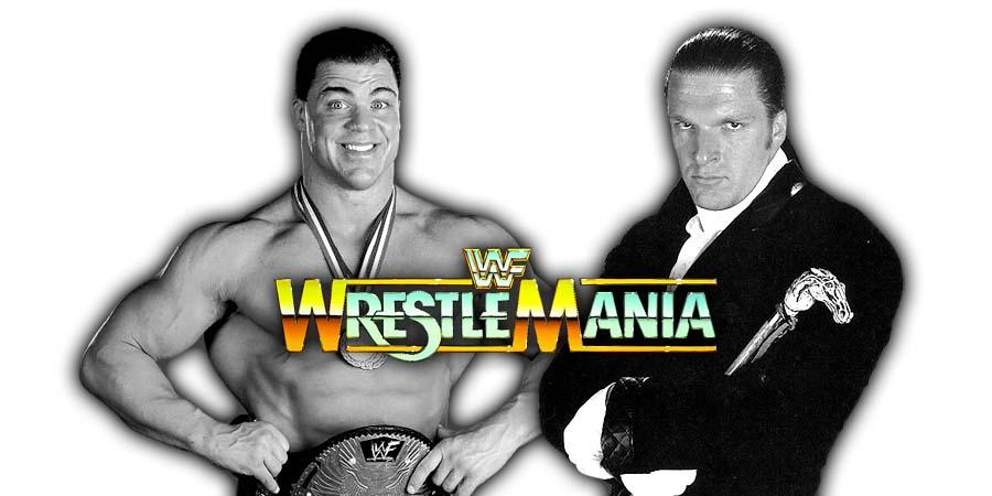 Triple H vs. Kurt Angle - WrestleMania 34