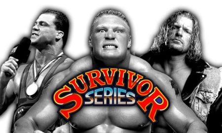 Survivor Series 2017 (Live Coverage & Results) - Brock Lesnar vs. AJ Styles, Triple H, Kurt Angle & Shane McMahon In Action