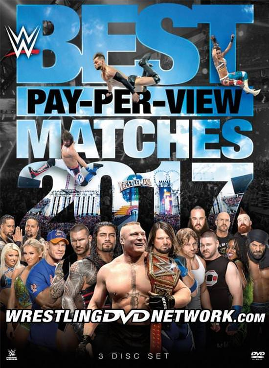 WWE's Best Pay-Per-View Matches 2017 DVD